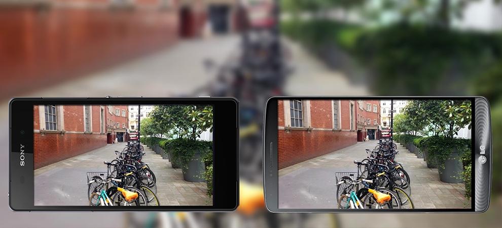 comparatif capteurs photos 4K LG G3 Sony Xperia Z2