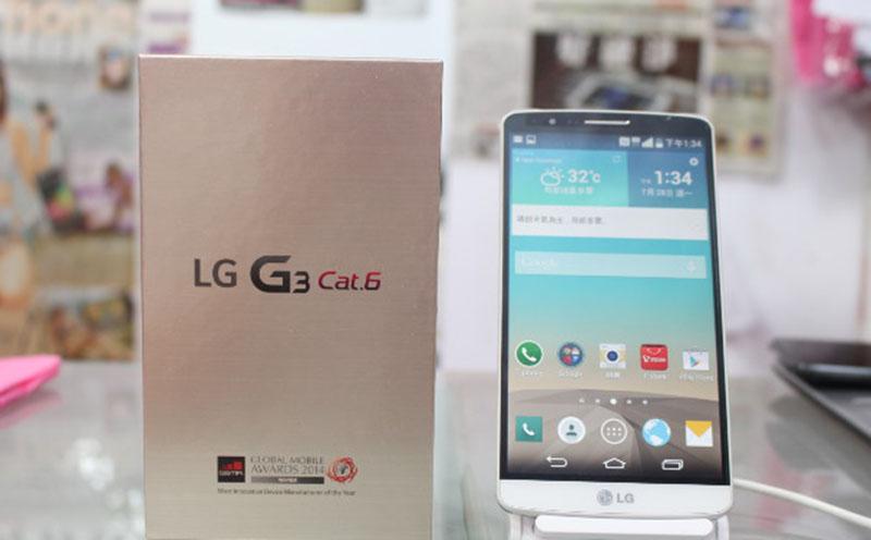 lg g3 catégorie 6 officiel