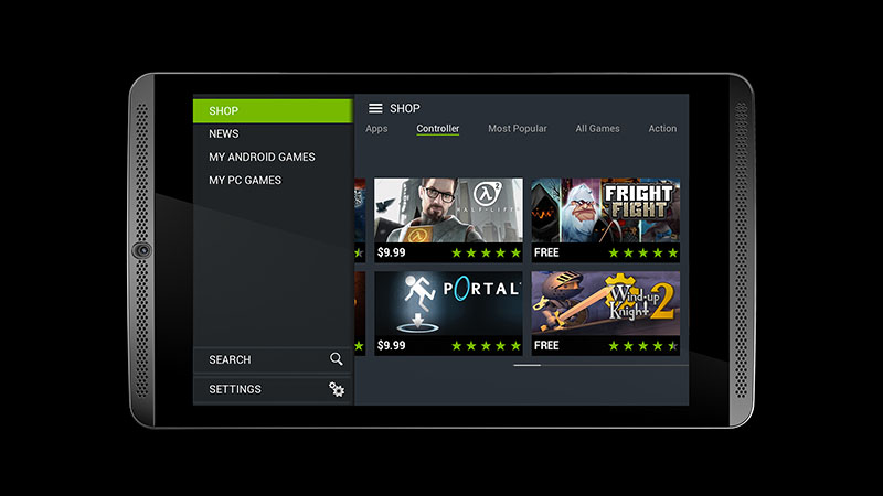 nvidia shield tablet officielle