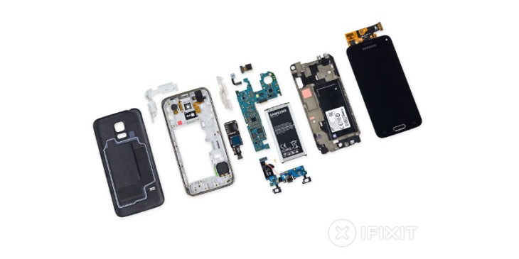 le samsung galaxy s5 mini subit le test de r parabilit d 39 ifixit. Black Bedroom Furniture Sets. Home Design Ideas