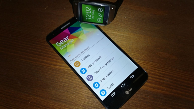 Samsung Gear LG G3