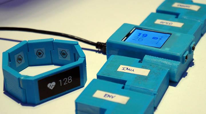 smartwatch blocks modulable