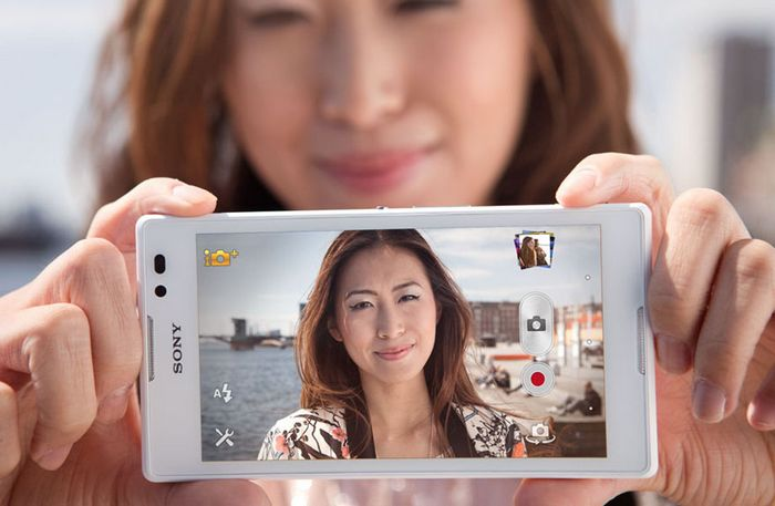 Sony selfie