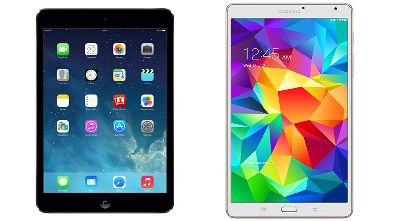 ventes tablettes Apple Samsung
