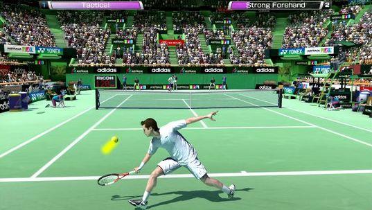 Virtua Tennis Challenge : meilleurs jeux de tennis sur Android