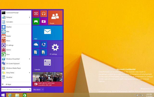 Windows 8 démarrer