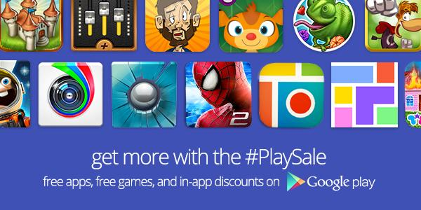 Google Play Store promotions estivales 2014