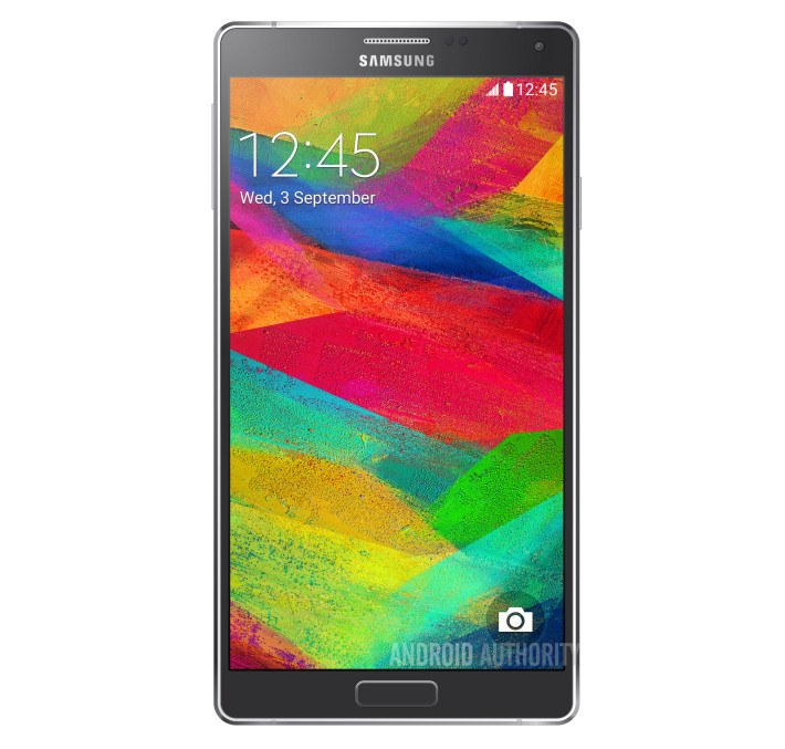 Samsung-Galaxy Note 4 rendu photo