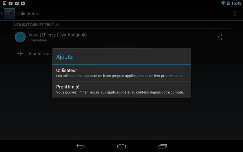 android-multi-utilisateurs