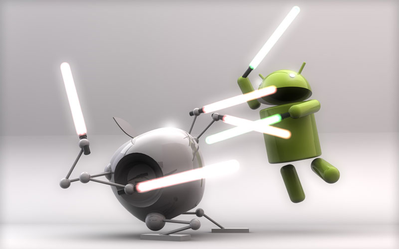 android vs android