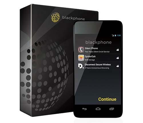 blackphone rooté sécurité