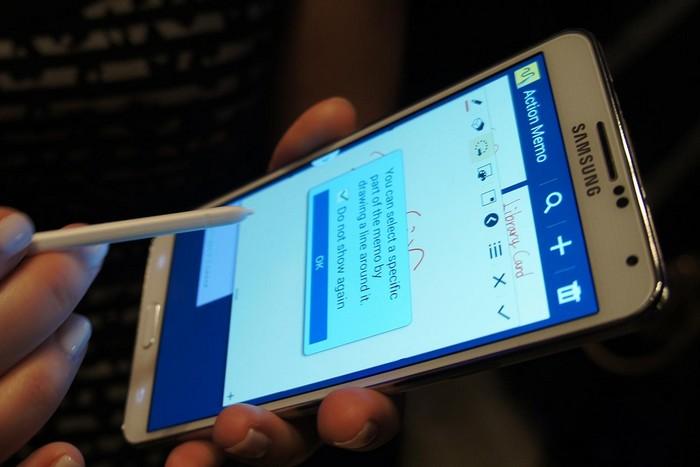 lecteur d'empreintes du Galaxy Note 4
