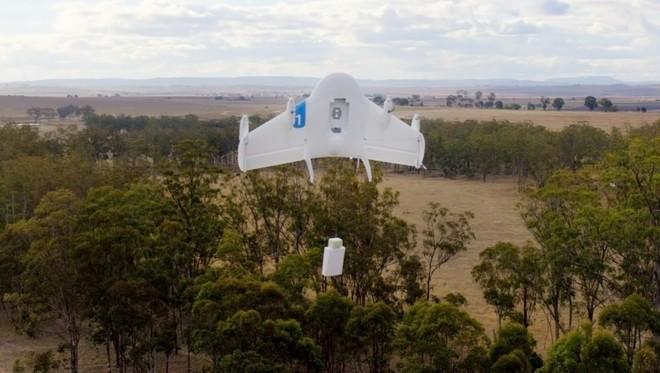 Google Projet Wing livraison par drones