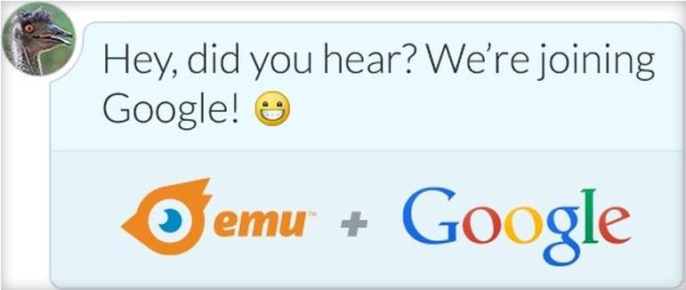Google rachete emu
