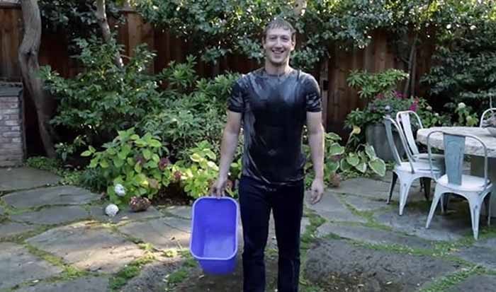 ice bucket challenge mark zuckerberg