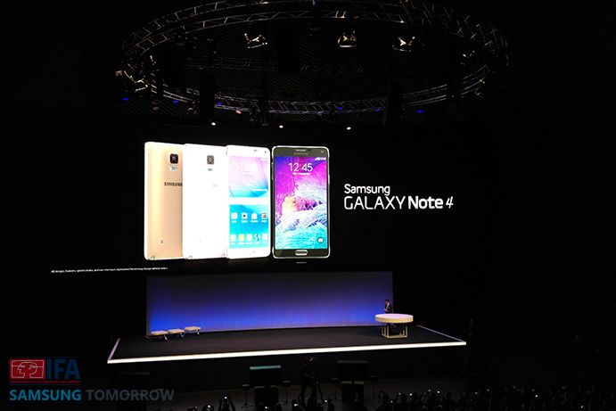 Galaxy Note 4 IFA