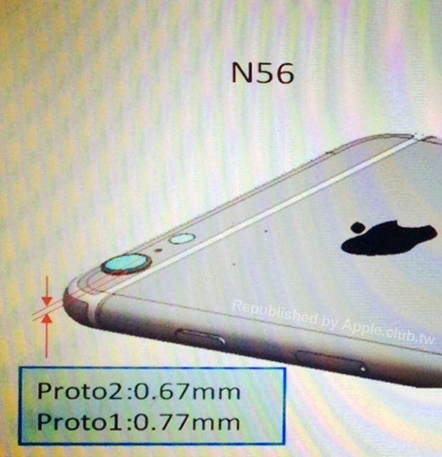 iphone 6 appareil photo sony