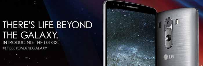 lg G3 publicité samsung galaxy
