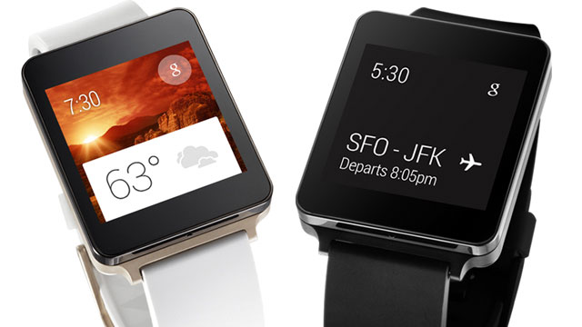 lg g watch mise a jour brulure