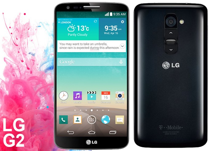mise à jour du LG G2