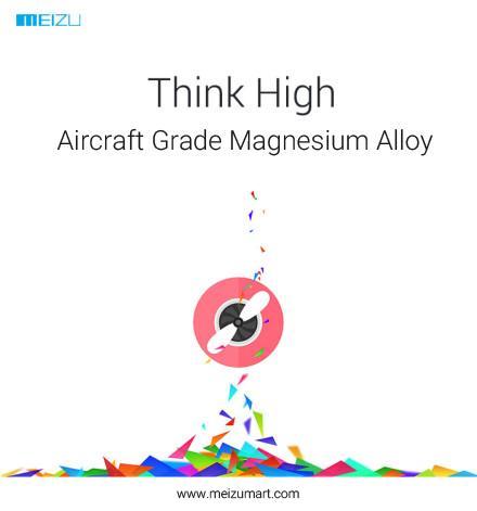 Meizy MX4 coque en alliage de magnésium
