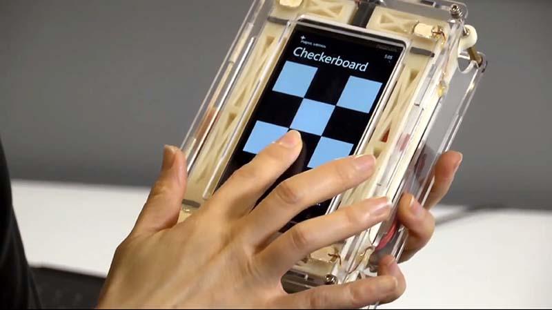 microsoft ecran haptique