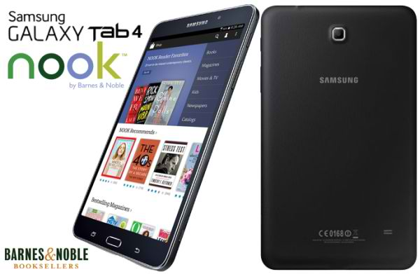 samsung galaxy tab 4 nook prix date de sortie et fiche. Black Bedroom Furniture Sets. Home Design Ideas