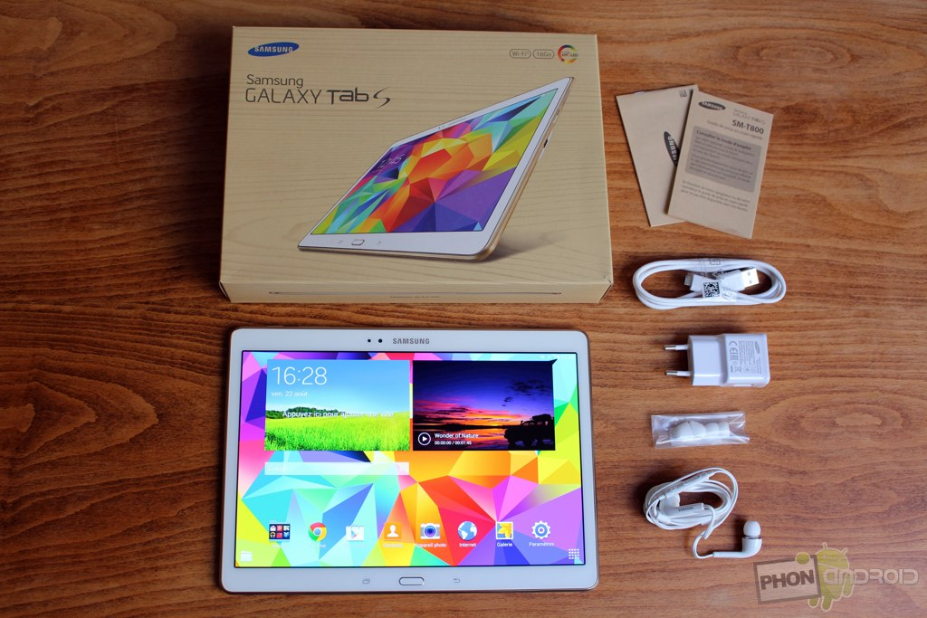 tablette samsung galaxy tab s 10 5 comme neuve vds tablettes achats ventes forum. Black Bedroom Furniture Sets. Home Design Ideas