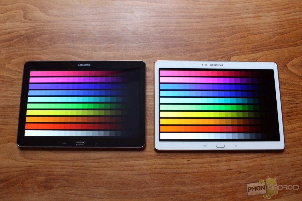 samsung galaxy tab s 10.5 couleurs