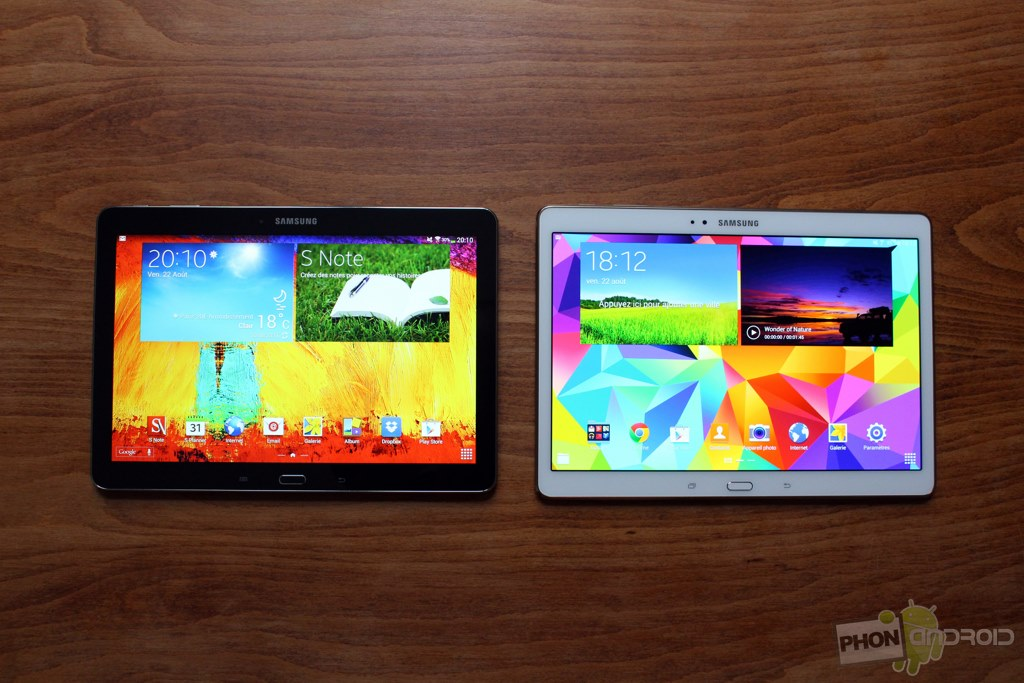 samsung galaxy tab s 10.5 vs galaxy note 10.1