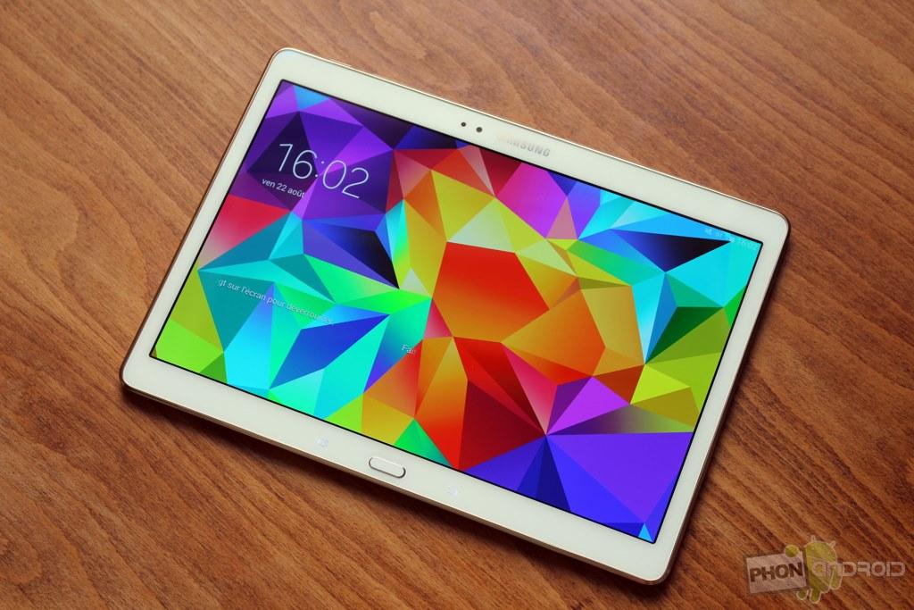 Test Samsung Galaxy Tab S 10.5 : un écran AMOLED qui fait ...