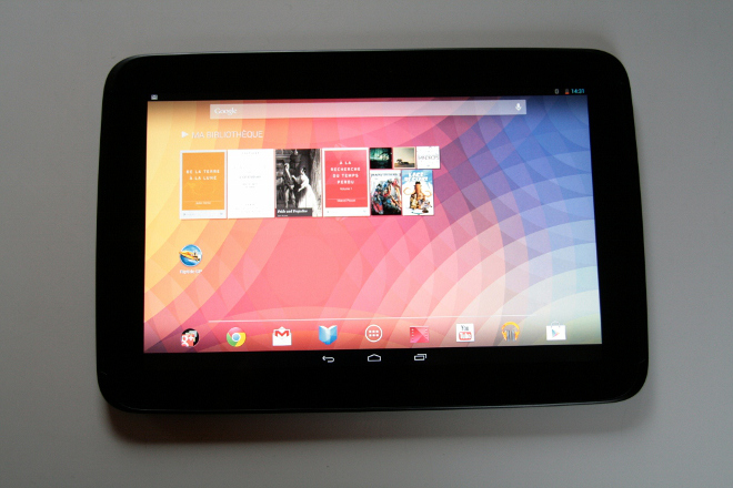 tablette google nexus 10