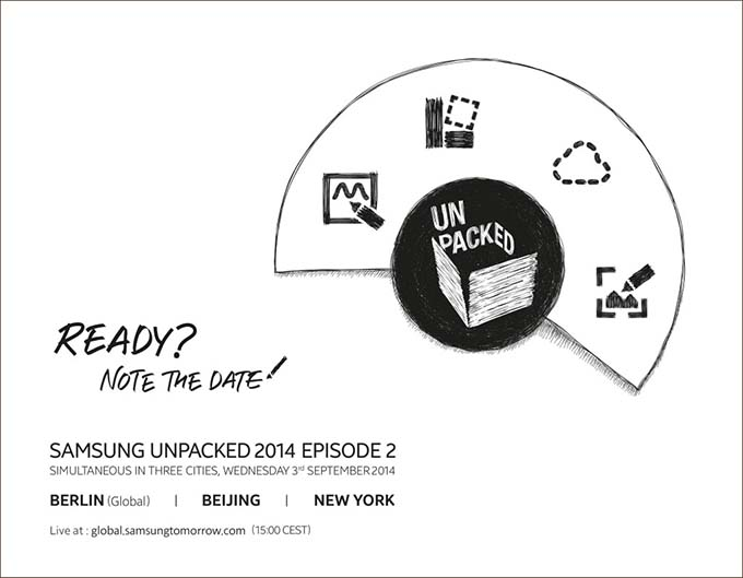 unpacked 2014 galaxy note 4