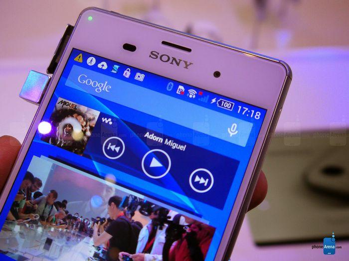 Sony Xperia Z3 écran