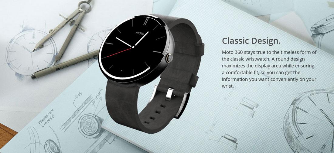 Motorola Moto 360 prix