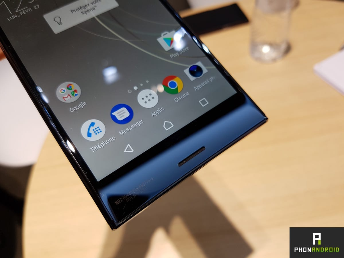 sony xperia xz premium prise en main du meilleur smartphone android de 2017. Black Bedroom Furniture Sets. Home Design Ideas