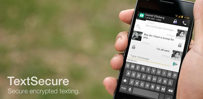 TextSecure meilleures messageries Android