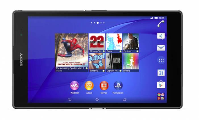 Xperia Z3 Tablet Compact epaisseur