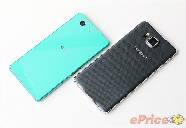 Sony Xperia Z3 Compact vs Galaxy Alpha