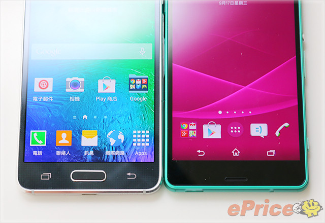 Sony Xperia Z3 Compact vs Galaxy Alpha