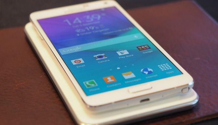 applications du Galaxy Note 4