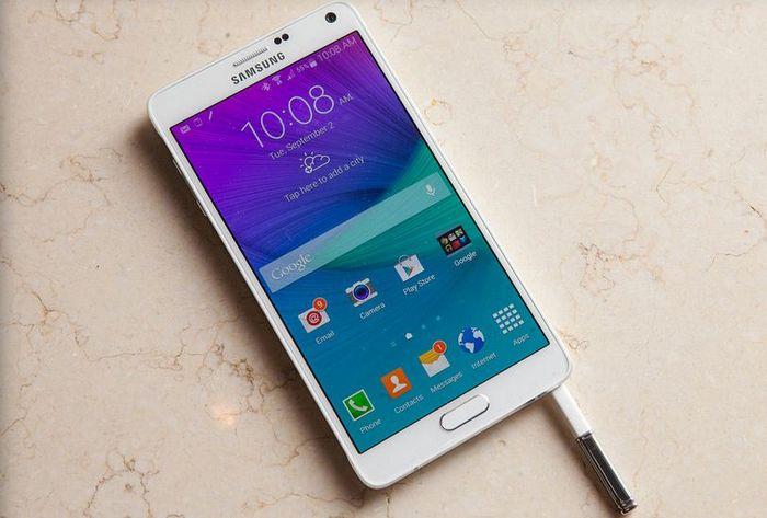 autonomie du Galaxy Note 4