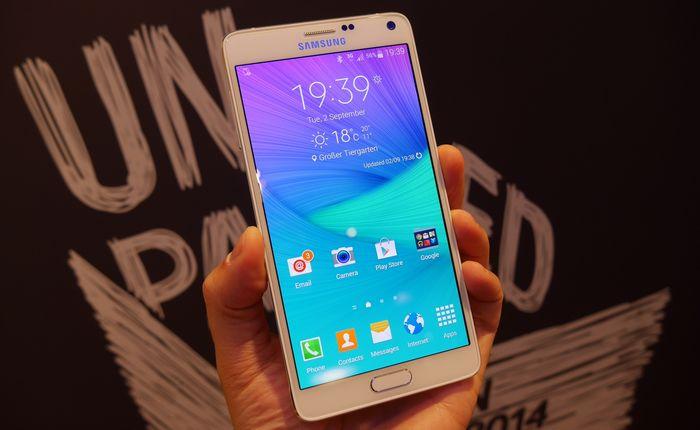 précommandes Galaxy Note 4