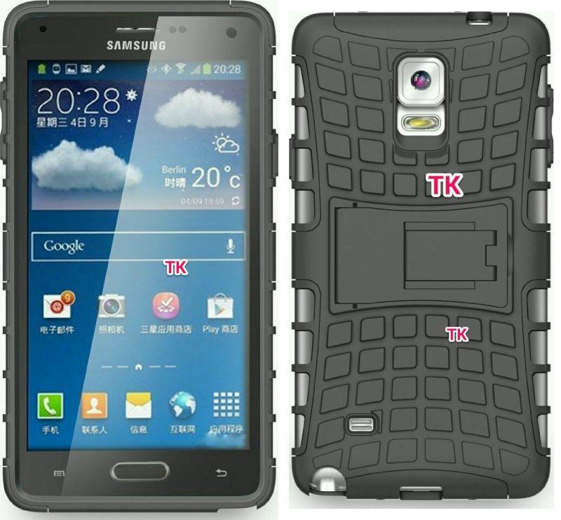 Galaxy Note 4 rendu