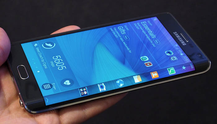 galaxy note edge incurve
