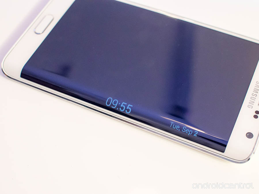 galaxy note edge nuit