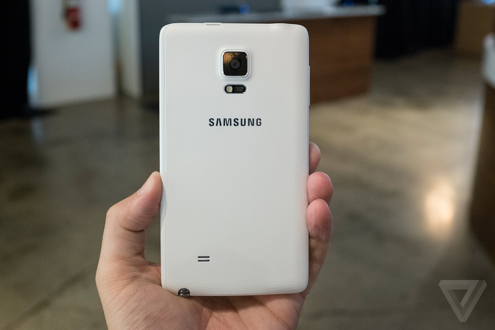 galaxy note edge prise en main