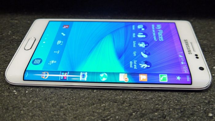 Galaxy Note Edge video unboxing