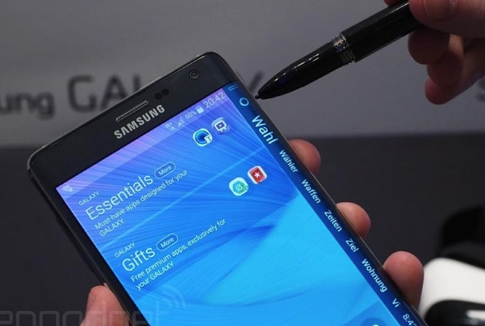 galaxy note edge tranche