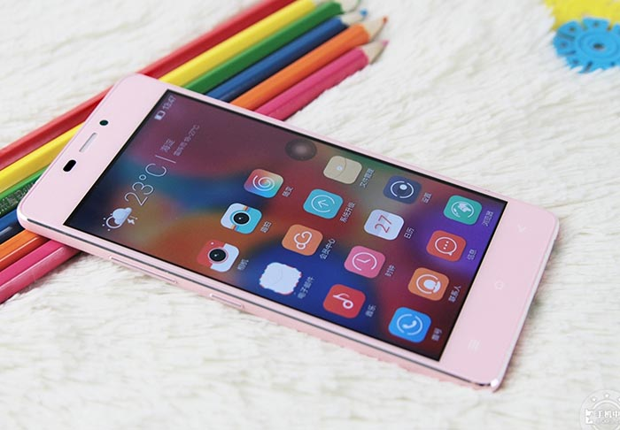 gionee s5.1 rose